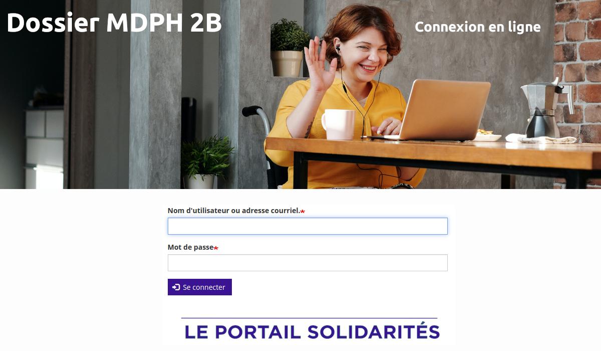dossier MDPH 2B