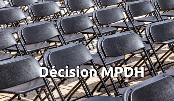 décision MDPH