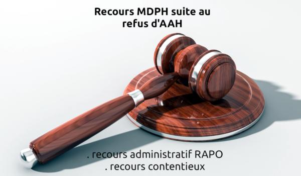 mdph refus aah